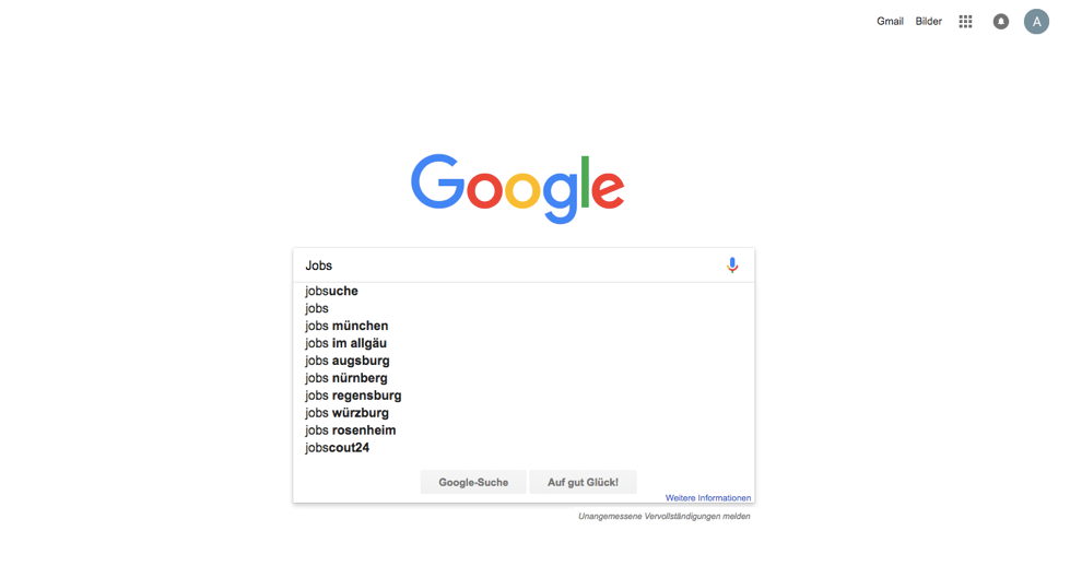 Google for Jobs Titelbild